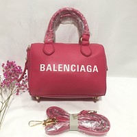 Balenciaga new product printed letter LOGO ladies shopping handbag shoulder bag messenger bag