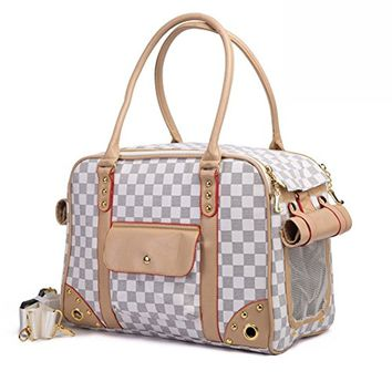 Betop House Pet Carrier Tote Around Town Pet Carrier Portable Dog Handbag Dog Purse for Outdoor Travel Walking Hiking