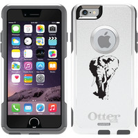 """""""Elephant Approaching"""" Animals design on OtterBox® Commuter Series® Case for iPhone 6 in Glacier"""