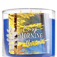 3-Wick Candle Crisp Morning Air