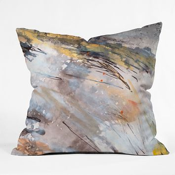 Ginette Fine Art Feathers In The Wind Outdoor Throw Pillow