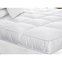 White Goose Down Mattress Topper by Downright