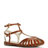 Sale-t-strap Front Cut-out Sandals