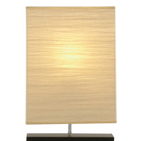 """Sparkling Wood Table Lamp 20""""H"""