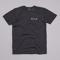 Polar Fill Logo Mesh T-shirt Dark Grey