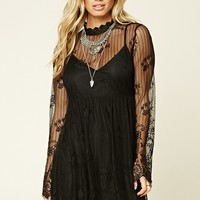 Contemporary Lace Skater Dress