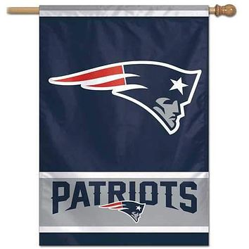 New England Patriots Game Day 28x40 Wall Banner