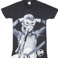 Buy David Bowie Acoustic T-Shirt Tee Shirt Online