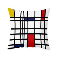 Iconic Open Lines Pillow