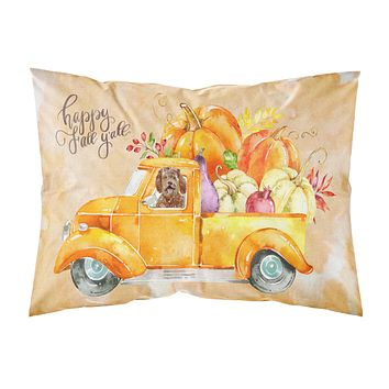 Fall Harvest Labradoodle Fabric Standard Pillowcase CK2623PILLOWCASE