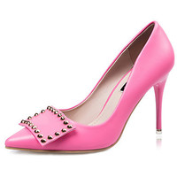 Pointed fine with thin fashion women's high-heeled shoes