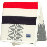Pendleton Heroic Chief Blanket Red/White/Blue, One