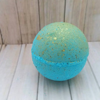 Mermaid bath bomb - bath bomb - color burst bath bomb - hidden color bath bomb - bath fizzy- foaming bath bomb - gift for her - favors