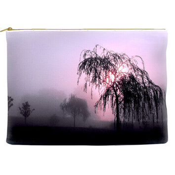 Cosmetic Bag - Willow Tree in the Mist