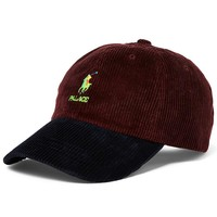 Two-Tone Palace Corduroy Hat by Ralph Lauren