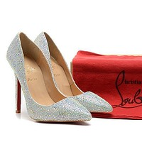 CL Christian Louboutin Fashion Heels Shoes-8