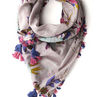 Fringe Fest Scarf in Lilac by ModCloth