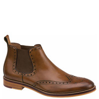 Johnston & Murphy Conard Leather Brogue Gore Ankle Boots