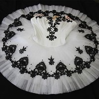 Classical Ballet tutu -- Perfomance quality in White Adult size