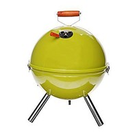 GUSTANDO L'ESTATE: Barbecue a carbone in acciaio con coperchio Sheldon - D 30/H 44 cm