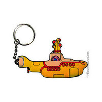 Beatles - Yellow Submarine Keychain  on Sale for $4.95 at The Hippie Shop