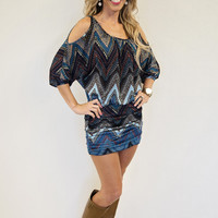 Shaina: Chevron Dress