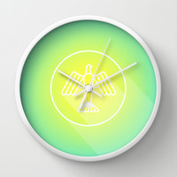 Icon No. 1 Wall Clock by chobopop