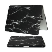 """Hard Protective Matte Marble Back Cases For MacBook Laptop Air Pro Retina 11"""" 12"""" 13"""" 15"""" Inch Ultra Slim Covers PVC Shell Skin"""
