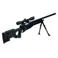 Airsoft Shadow Ops Sniper Rifle, Black