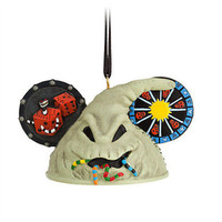 disney the nightmare before christmas oogie boogie ear hat ornament new with tag