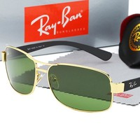 Ray-ban fashion sells men's large framed polarized sunglasses