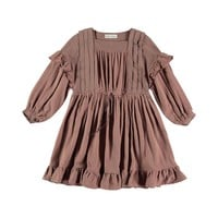 Belle Chiara Girls' Cinnamon Dress