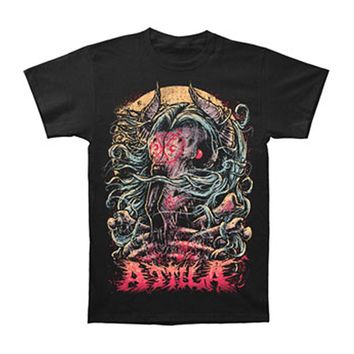 Attila Men's  Goat Head T-shirt Black