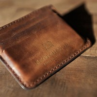 Leather Card Holder by Scotch & Soda - $40