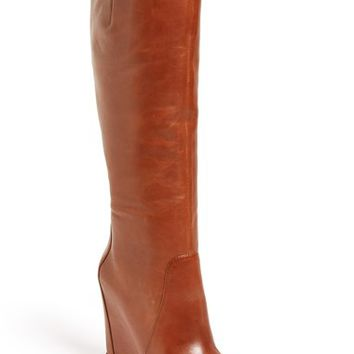 Women's Kenneth Cole New York 'Statton' Leather Wedge Boot