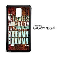 BEYONCE SONG V1816 Samsung Galaxy Note 4 Case