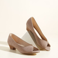 Winning Workplace Peep Toe Heel