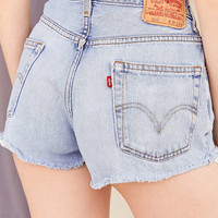 Urban Renewal Recycled Levi's Rolled Hem Denim Short   Urban Outfitters