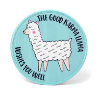 Llama Embroidered Patch / Iron On Patch / Alpaca Patch / Cute Patch / Animal Patch / Jacket Patches / Encouragement Motivational Gift