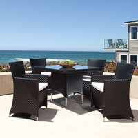 2017 5pcs Contemporary Outdoor Furniture and patio dining set