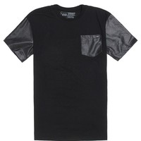 Young & Reckless Midnight Pocket T-Shirt - Mens Tee - Black