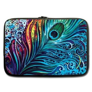 """Unidesign Peacock Feather 13"""" 13.3"""" Inch Laptop Sleeve Bag for Apple Macbook pro, air, Dell Inspiron, Vostro, Samsung, ASUS UL30, Toshiba Notebook:Amazon:Computers & Accessories"""