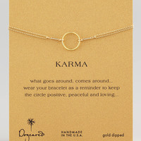 Original Karma Ring, Golden - Dogeared - Golden