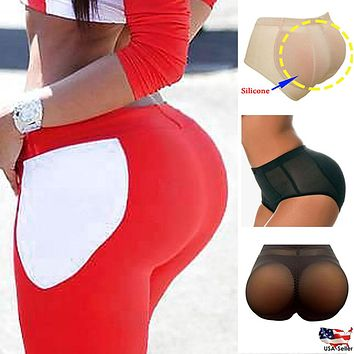 Silicone Butt Panties Buttocks Pads Enhancer body Shaper Panty Tummy Control Girdle