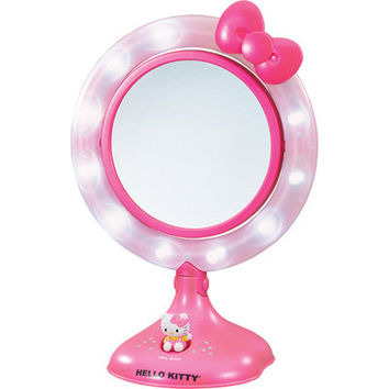 Hello Kitty Lighted Vanity Mirror - Pink | Meijer.com