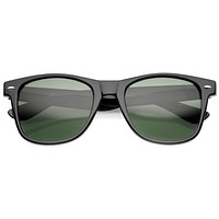 Standard Issue Classic Retro Horned Rim Sunglasses 8452