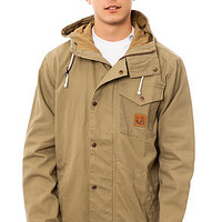 The Core Collection Jacket in Dark Khaki