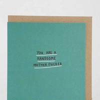 Lazy Oaf Handsome Mother Card - Assorted One