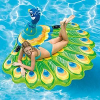 Inflatable Pool Floats PVC Durable Inflatable Swimming Water Sports for Adults 195*165*95 cm