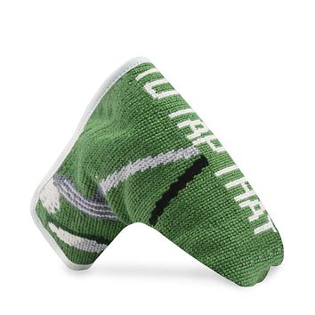 I'd Tap That Needlepoint Putter Headcover by Smathers & Branson